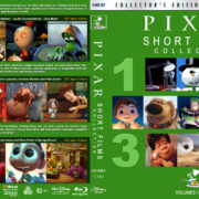 Pixar Short Films Collection – Volumes 1, 2 & 3 (2012-2018) R1 Custom Blu-Ray Cover