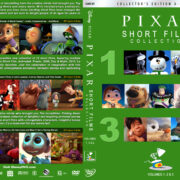 Pixar Short Films Collection – Volumes 1, 2 & 3 (2007-2018) R1 Custom DVD Cover