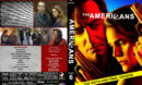 The Americans - Season 6 (2018) R1 Custom DVD Cover & Labels