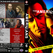 The Americans – Season 6 (2018) R1 Custom DVD Cover & Labels