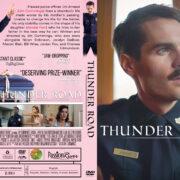 Thunder Road (2018) R1 Custom DVD Cover