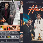 My Dinner with Hervé (2018) R1 Custom DVD Cover
