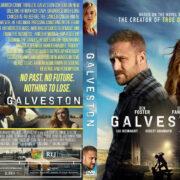 Galveston (2018) R1 Custom DVD Cover