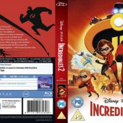 Incredibles 2 (2018) R2 Blu-Ray Cover