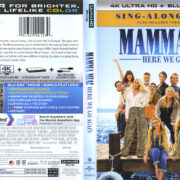 Mamma Mia!: Here We Go Again (2018) R1 4K UHD Cover & Labels