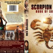 The Scorpion King Book Of Souls (2018) R1 CUSTOM DVD Cover & Label