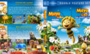 Maya the Bee Double Feature (2014-2018) R1 Custom Blu-Ray Cover