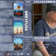 Richard Dreyfuss Collection 6 (2009-2013) R1 Custom DVD Covers