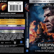 Deepwater Horizon (2016) R1 4K UHD Blu-Ray Cover & Label
