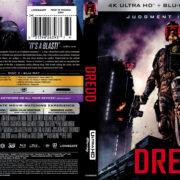 Dredd (2012) R1 4K UHD Blu-Ray Cover