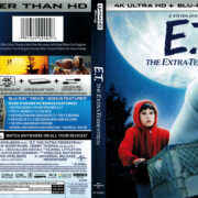 E.T. The Extra-Terrestrial (2017) R1 4K UHD Blu-Ray Cover