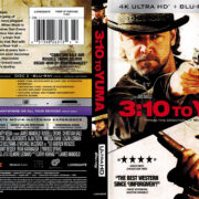3:10 To Yuma (2007) R1 4K UHD Blu-Ray Cover
