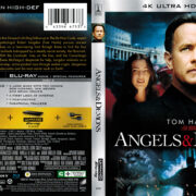 Angels & Demons (2009) 4K UHD Blu-Ray Cover