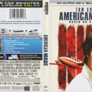 American Made (2017) 4K UHD R1 Blu-Ray Cover