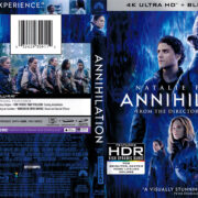 Annihilation (2018) R1 4K UHD Blu-Ray Cover