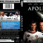 Apollo 13 (1995) R1 4K UHD Blu-Ray Cover