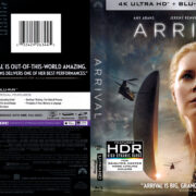 Arrival (2016) R1 4K UHD Blu-Ray Cover
