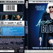Atomic Blonde (2017) R1 4K UHD Blu-Ray Cover