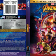 Avengers Infinity War (2018) R1 4K UHD Blu-Ray Cover