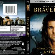 Braveheart (1995) R1 4K UHD Blu-Ray Cover