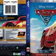 Cars 3 (2017) R1 4K UHD Blu-Ray Cover