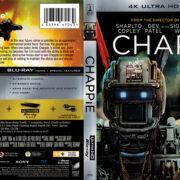 Chappie (2015) R1 4K UHD Blu-Ray Cover
