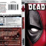 Deadpool (2016) R1 4K UHD Blu-Ray Cover