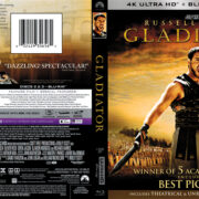 Gladiator (2000) R1 4K UHD Blu-Ray Cover