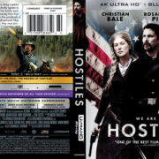 Hostiles (2017) R1 4K UHD Blu-Ray Cover & Label