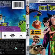 Hotel Transylvania 3: The Summer Vacation (2018) R1 4K UHD Blu-Ray Cover