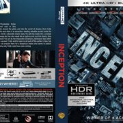 Inception (2010) R1 4K UHD Blu-Ray Cover