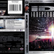 Independence Day (1996) R1 4K UHD Blu-Ray Cover