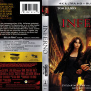 Inferno (2016) R1 4K UHD Blu-Ray Cover