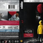 IT (2017) R1 4K UHD Blu-Ray Cover