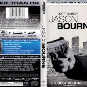 Jason Bourne (2016) R1 4K UHD Blu-Ray Cover