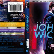 John Wick: Chapter 2 (2017) R1 4K UHD Blu-Ray Cover