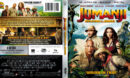 Jumanji: Welcome To The Jungle (2017) R1 4K UHD Blu-Ray Cover & Label