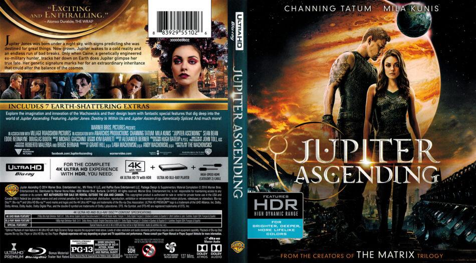 Jupiter Ascending 2015 R1 4k Uhd Blu Ray Cover Dvdcover Com