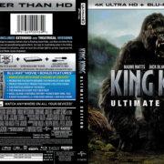 King Kong (2005) R1 4K UHD Blu-Ray Cover