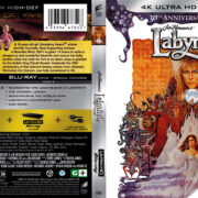 Labyrinth (1986) R1 4K UHD Blu-Ray Cover