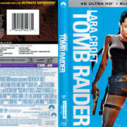 Lara Croft: Tomb Raider (2001) R1 4K UHD Blu-Ray Cover