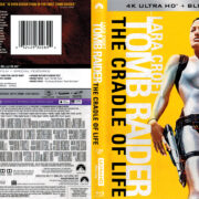 Lara Croft Tomb Raider: The Cradle Of Life (2003) R1 4K UHD Blu-Ray Cover