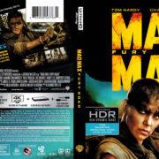 Mad Max: Fury Road (2015) R1 4K UHD Blu-Ray Cover