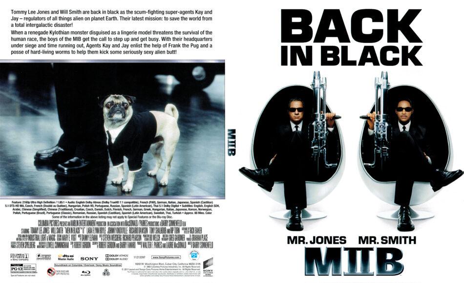 Men In Black Ii 2002 R1 4k Uhd Blu Ray Cover Dvdcover Com