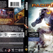 Pacific Rim (2013) R1 4K UHD Blu-Ray Cover