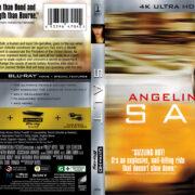 Salt (2010) R1 4K UHD Blu-Ray Cover