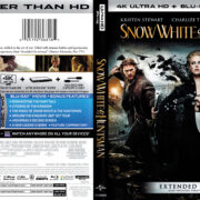 Snow White & The Huntsman (2012) R1 4K UHD Blu-Ray Cover