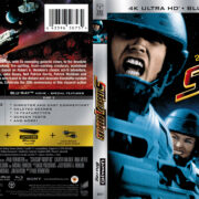 Starship Troopers (1997) R1 4K UHD Blu-Ray Cover