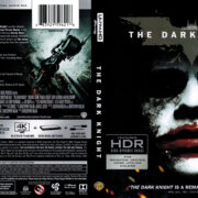 The Dark Knight (2008) R1 4K UHD Blu-Ray Cover