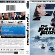The Fate Of The Furious (2017) R1 4K UHD Blu-Ray Cover